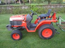 KUBOTA tractor (type B1610, 16 pk, 4WD, 73 draaiuren!!!!)
