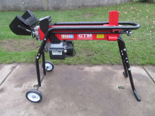 Nieuwe GTM houtklovers (type GTL5000H, kloofkracht 5 ton)