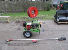IDEAL snoeicompressor (Honda motor, slangenhaspel, scharen)