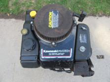motor KAWASAKI (GEBRUIKT, type FB460V, vermogen 12,5 pk)