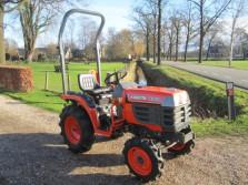 KUBOTA tractor (type B1610, 16 pk, 4WD, 87 draaiuren!!!!)