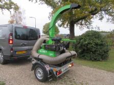 LASKI bladzuiger (type VD500P, 25 pk Kohler motor, 80 km/h)