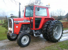 MF tractor (575, cabine, MULTIPOWER, dubbellucht)