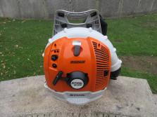 STIHL ruggedragen bladblazer (type BR 600, 2010, keurig nette machine)